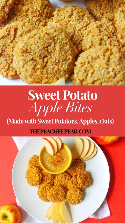 Sweet Potato Apple Bites   Recipe   Food, Yummy sweet ...