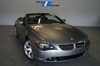 2007 Bmw 650ci Convertible Free 5 Year 100 000 Miles Warranty Clean Carfax Used Bmw 6 Series For Sale In Jacksonville Florida Used Bmw Bmw 6 Series Bmw