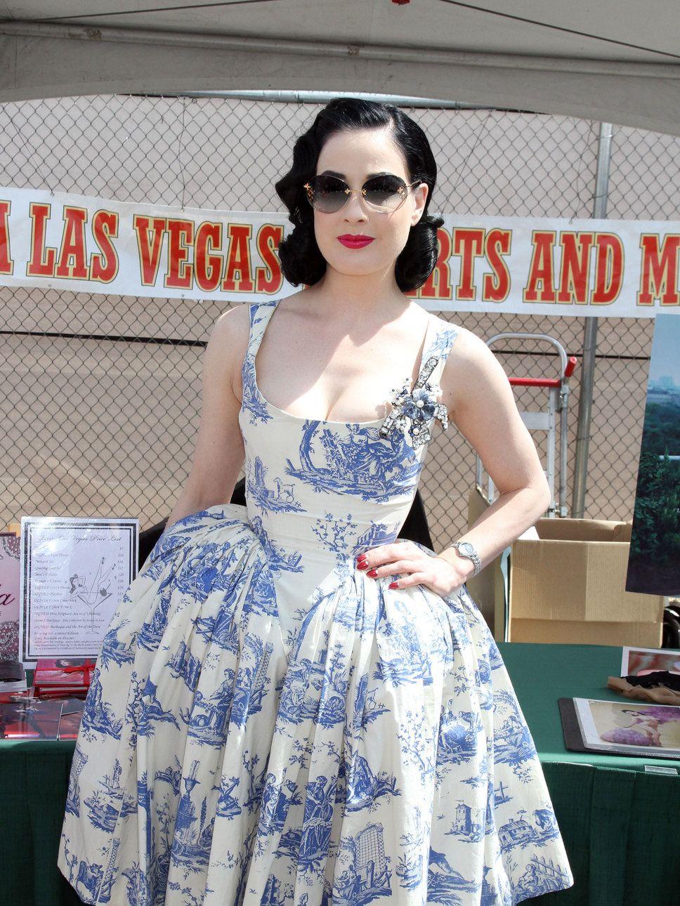 Dita in a toile Vivienne Westwood dress