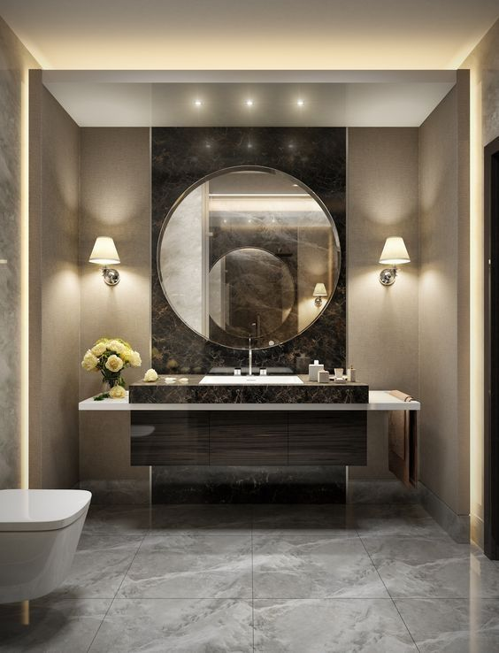 34 Elegant Modern Bathroom Design For Luxury Style Rengusuk Com Modern Bathroom Design Luxury Bathroom Bathroom Interior Design