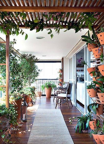 Pergolados Pérgolas, Plantas y Terrazas - decoracion de terrazas con plantas