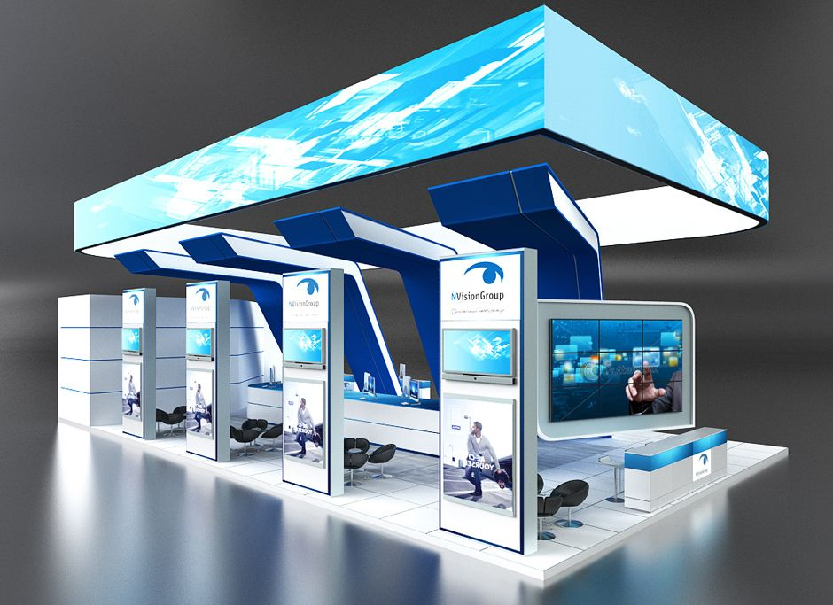 Modern Exhibition Stand Goals : Http iastrebov portfolio exhebition design n vision