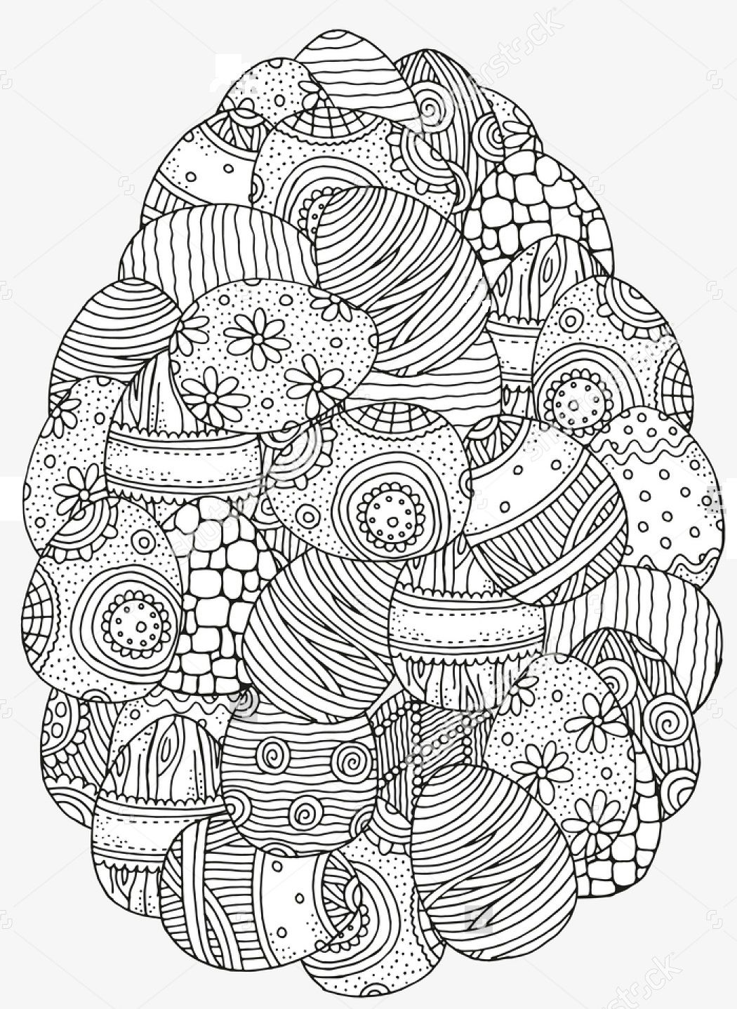 Pin By Bieke Adams On Easter Easter Egg Coloring Pages Easter Coloring Pages Mandala Coloring Pages