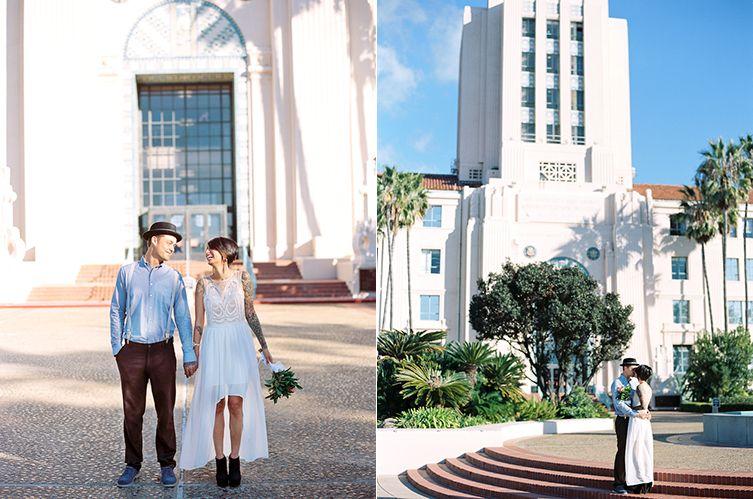 San Go Courthouse Wedding California Photography Harmony Loves
