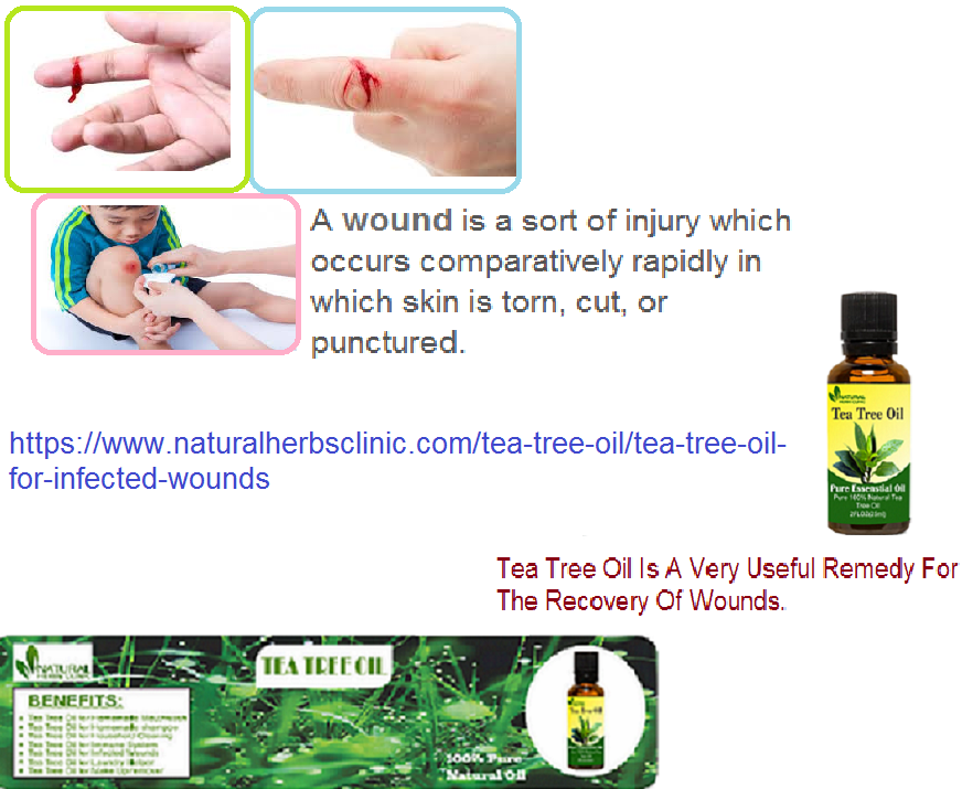 Tea Tree Oil for Infected Wounds - Natural Essential Oils ...