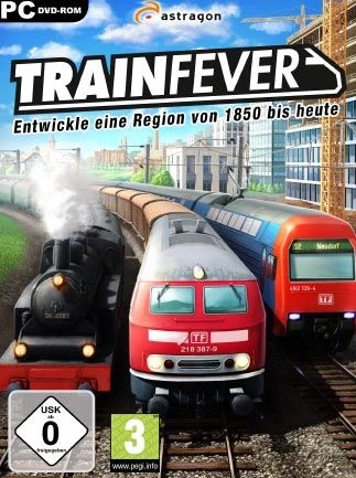 Train Fever Steam Key GLOBAL Business simulation game