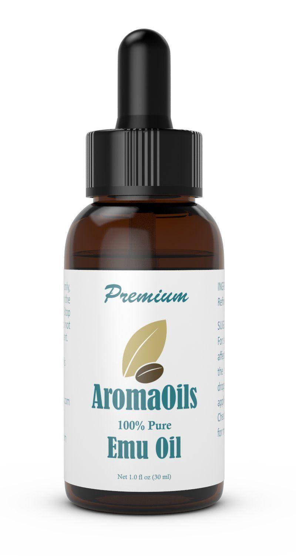 Emu Oil - 1 oz - 100 Percent Pure Oil by AromaOils - Best ...