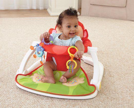 Amazon.com: Fisher-Price Deluxe Sit-Me-Up Floor Seat: Baby | BABY ...