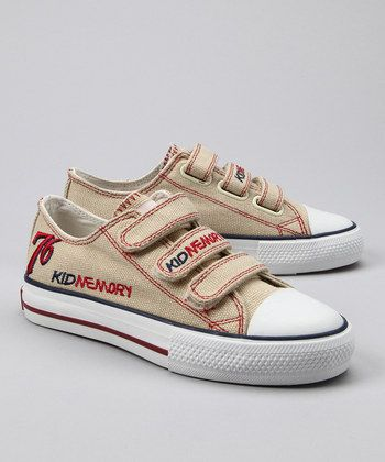Sand Limited Edition Three-Strap Sneaker