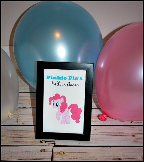 Pinkie Pie's Balloon Game With Water Balloons?