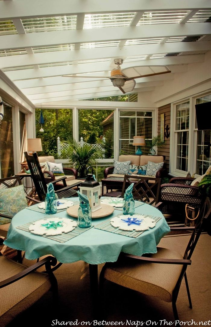 Clear Pergola Roof Covered Patios