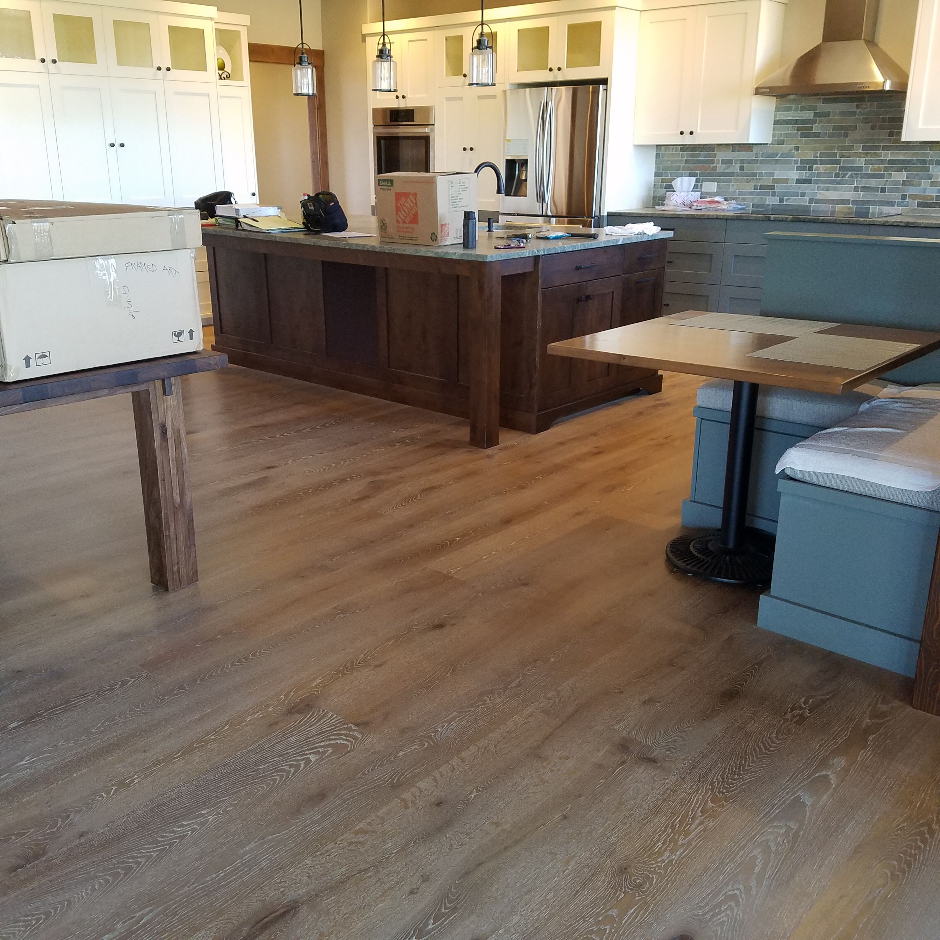 Castlebespokeflooring Looking Great 3 4 X 8 X 10 With 6mm Wear Layer Installed Unfinished And Site Finished By Contractor W Flooring Home Rubio Monocoat
