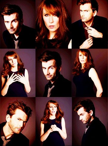 """Donna Noble is my favorite because she's the only companion who didn't fall all over the Doctor, and thus she was his """"best mate."""""""