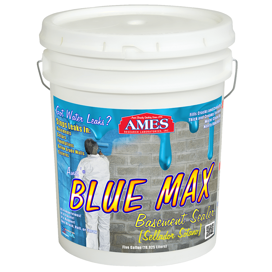 Blue Max Liquid Rubber Sealant For Basement Waterproofing Waterproofing Basement Liquid Rubber Basement