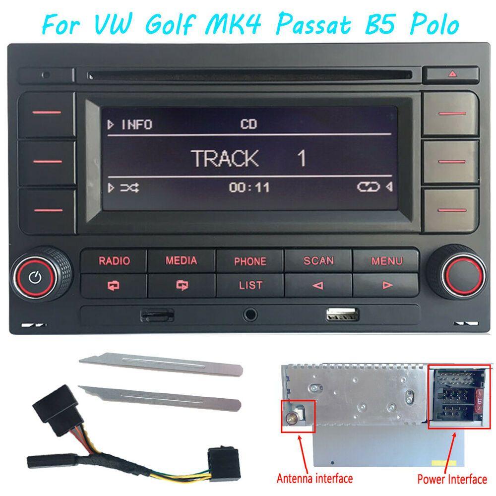 JVC Bluetooth//USB//AUX Auto Radioset für AUDI A1 ab 2010