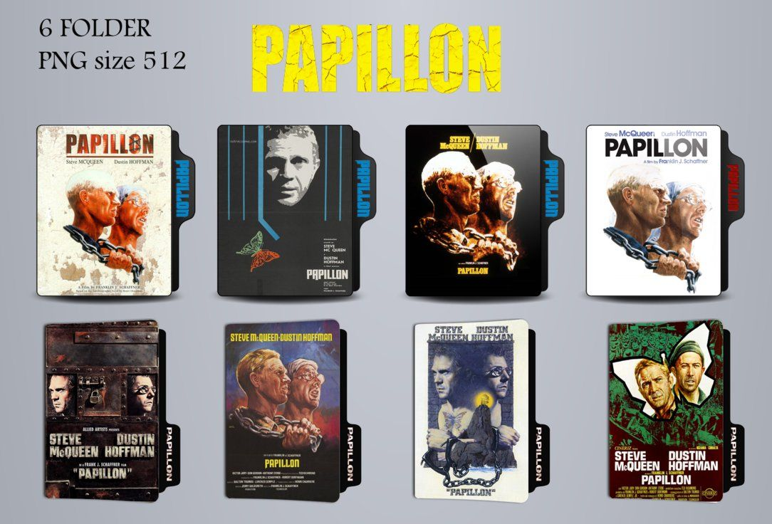 Papillon classic movie pack 2 by lahcenmo on DeviantArt