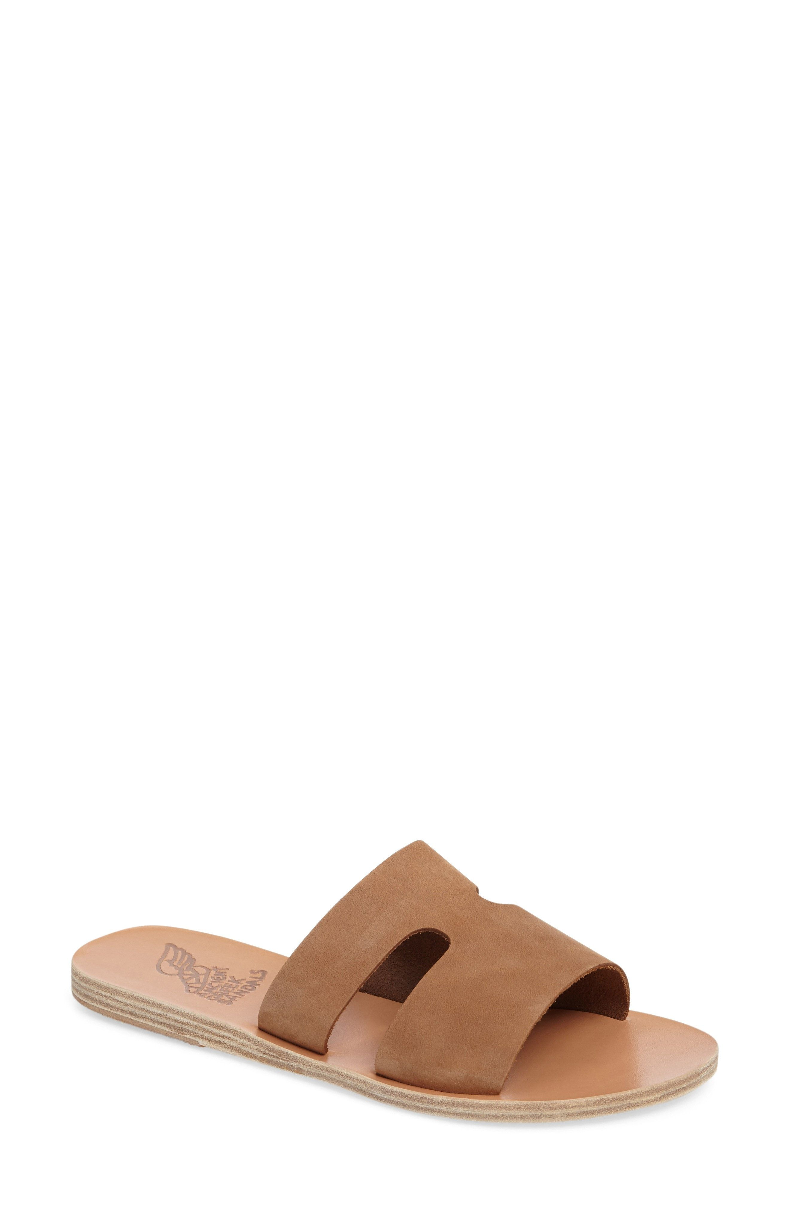 Ancient Greek Sandals Women's Apteros Slide Sandal 1s7MKEPoI