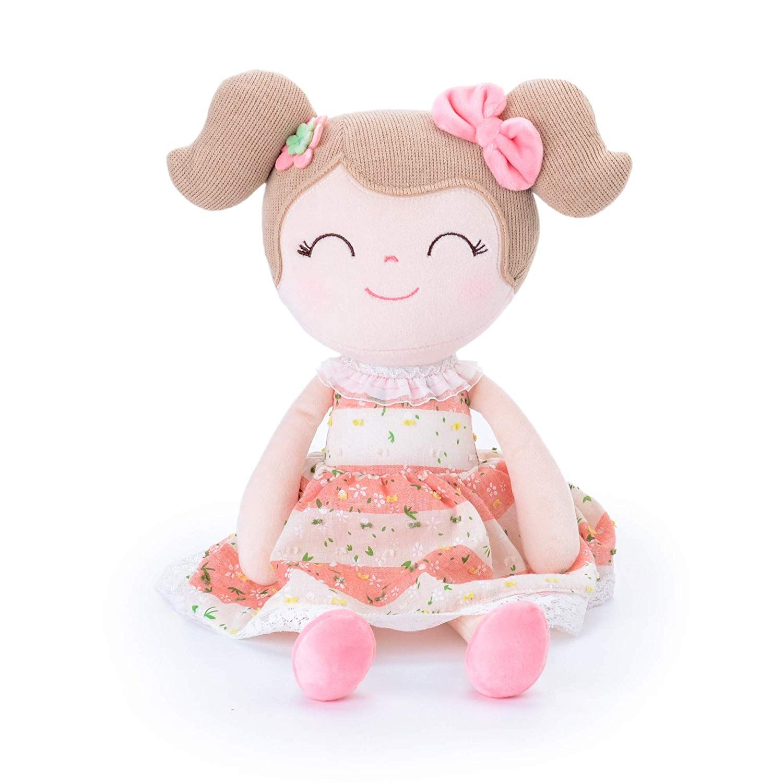 Gloveleya Baby Doll Baby Girl Gifts Cloth Dolls Kids Plush
