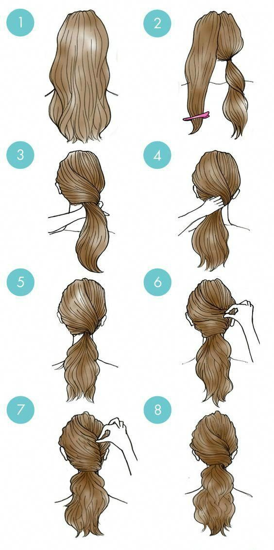 Easy Everyday Hairstyles Step By Step For Girls   Gym Route #Easyhairstyles   Easy everyday ...