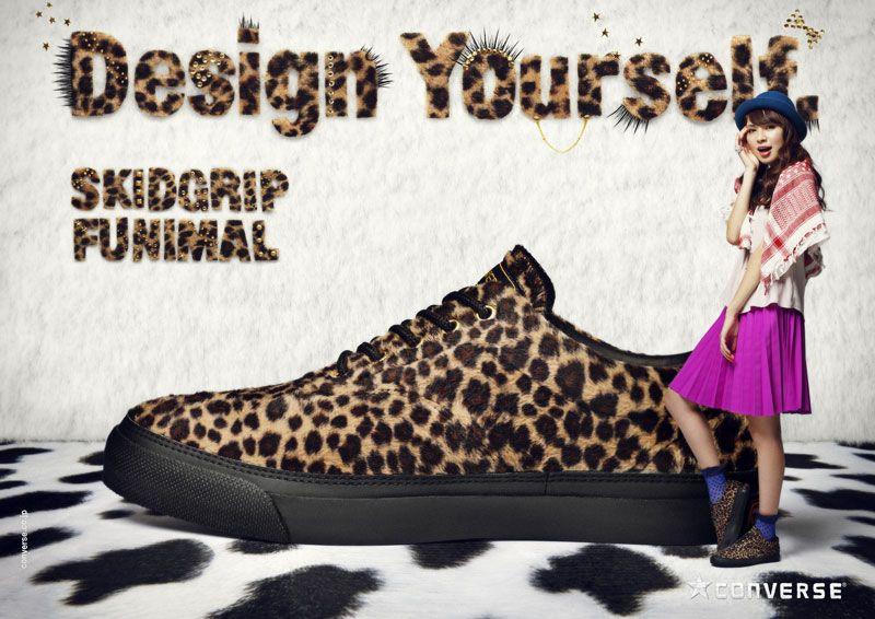 CONVERSE 2012 FALL SEASON | WORKS | デキスギ D.K.S.G. #converse #skidgrip #direction #design #shooting #model #advertisement #print #magazine #poster #web #storepromotiontool #dekisugi