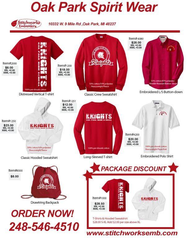 Spirit Wear Shirt Designs
