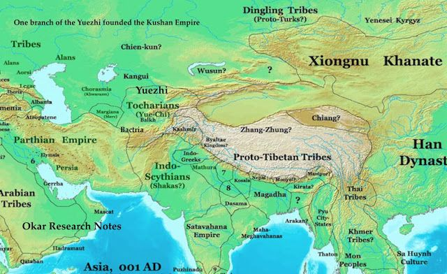 Post Mauryan Period : Dynasties and Their Contributions   Parthian empire, History, Map