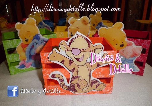 8b470b915 Recuerdos para baby shower de Winnie Pooh