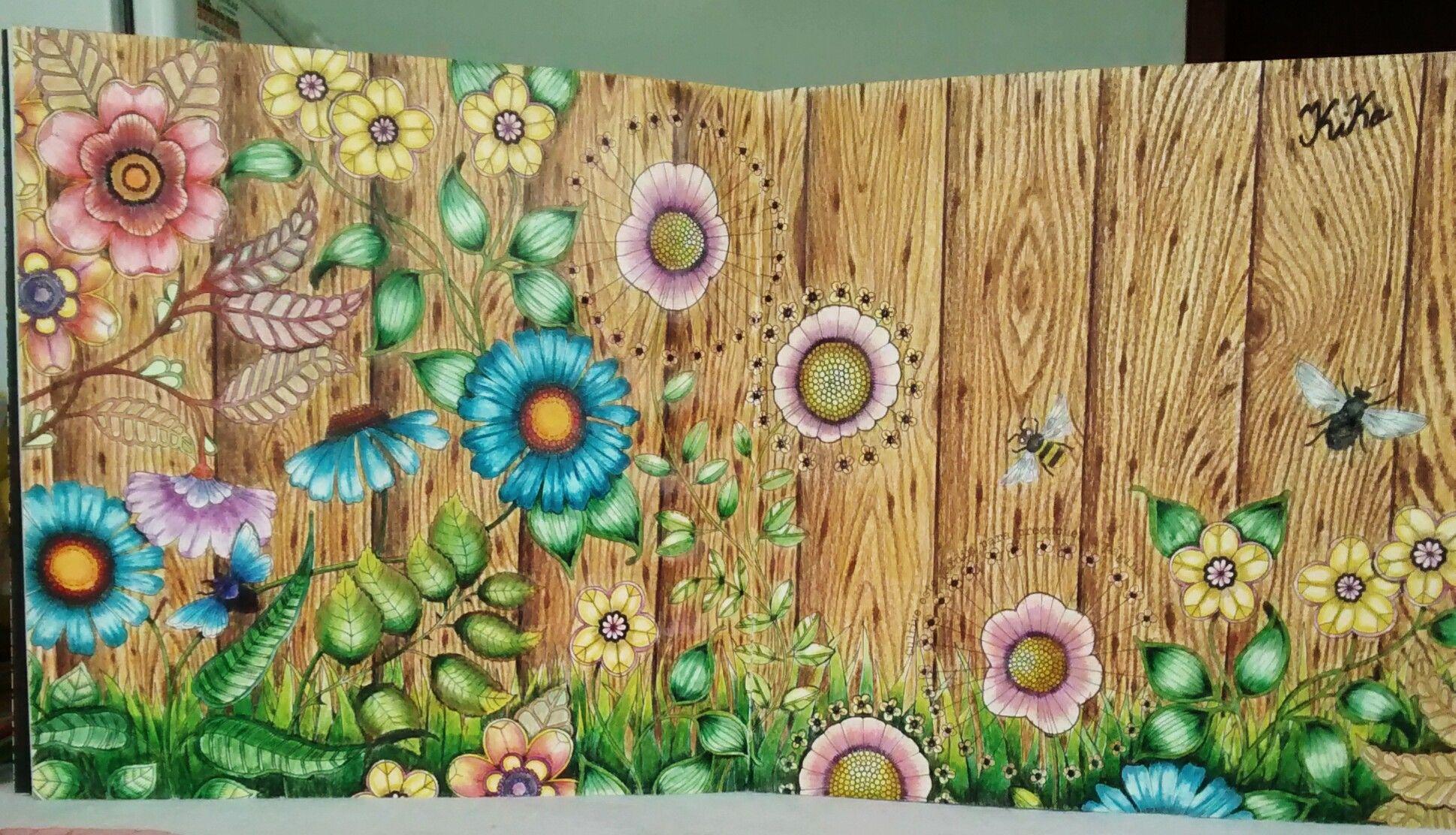 Lindo trabalho do nosso amigo Kiko Giacomelli do Grupo Jardim Secreto / Floresta Encantada - Facebook