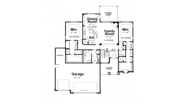 Craftsman Style House Plan 2 Beds 3 Baths 1853 Sq Ft Plan 20 2179 Craftsman Style House Plans Bedroom House Plans House Plans