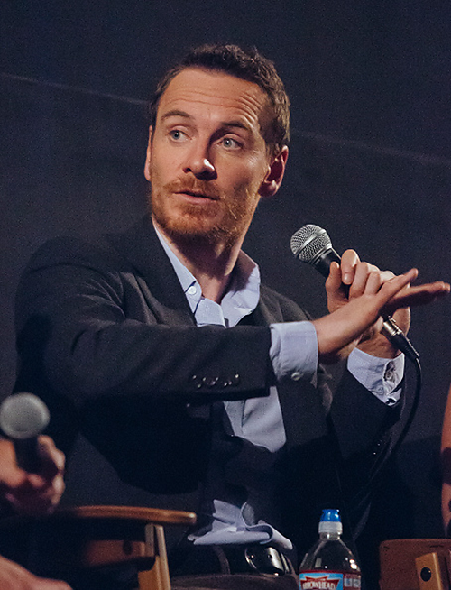 Michael Fassbender attends SAG-AFTRA Foundation conversations at the Egyptian Theatre