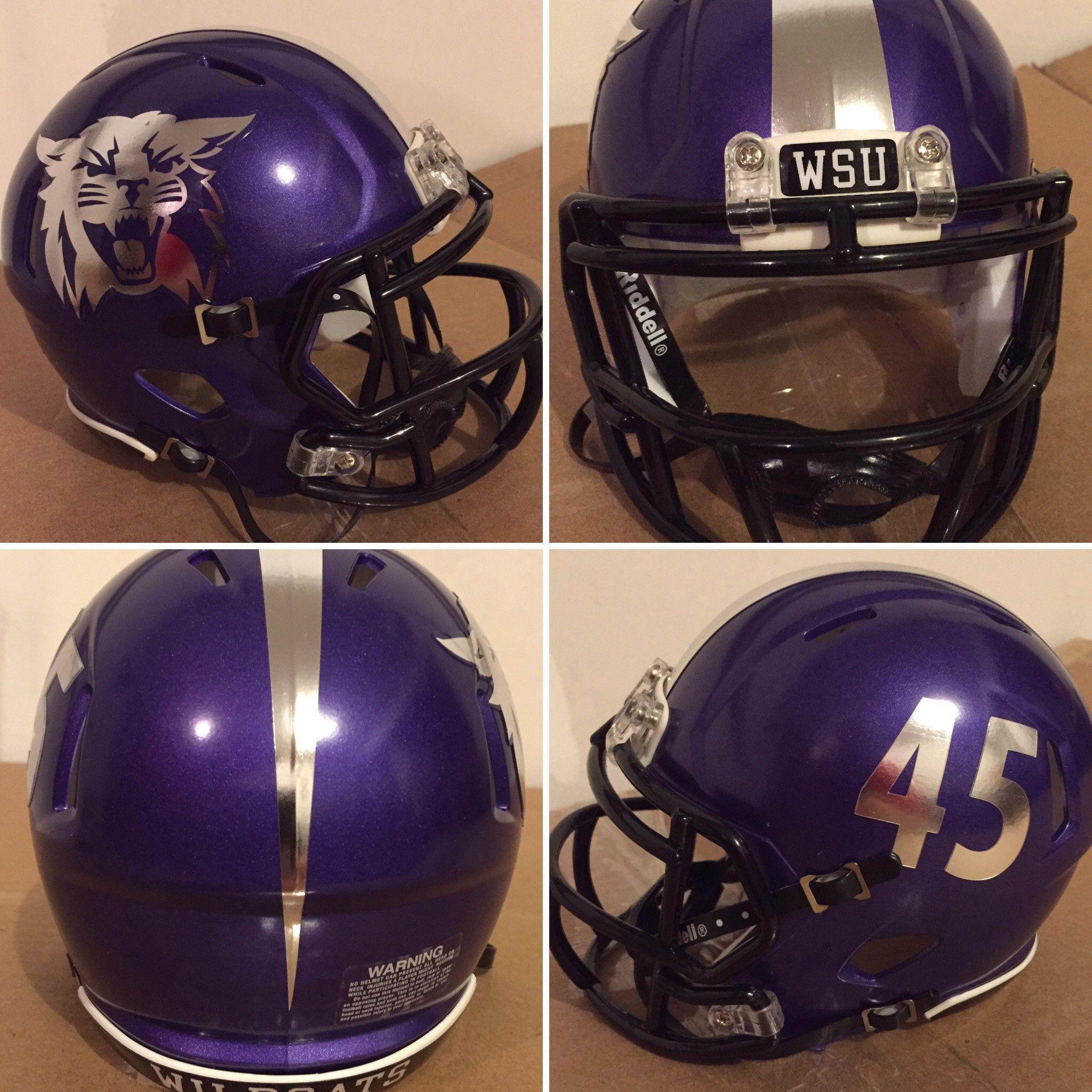 ce15ae36 Custom Riddell Speed Authentic Mini Football Helmets | Custom Mini ...