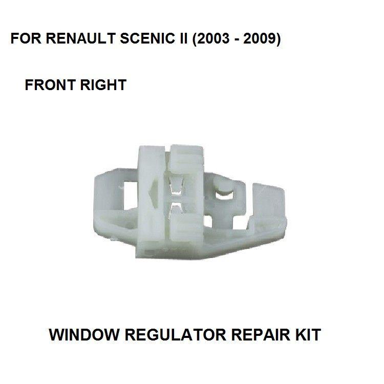 SCENIC I WINDOW REGULATOR REPAIR CLIP FORNT-RIGHT