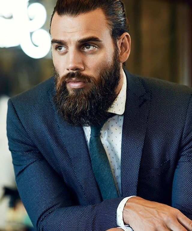 daily dose of awesome beard styles from tattoos pinterest b rte und frisur. Black Bedroom Furniture Sets. Home Design Ideas