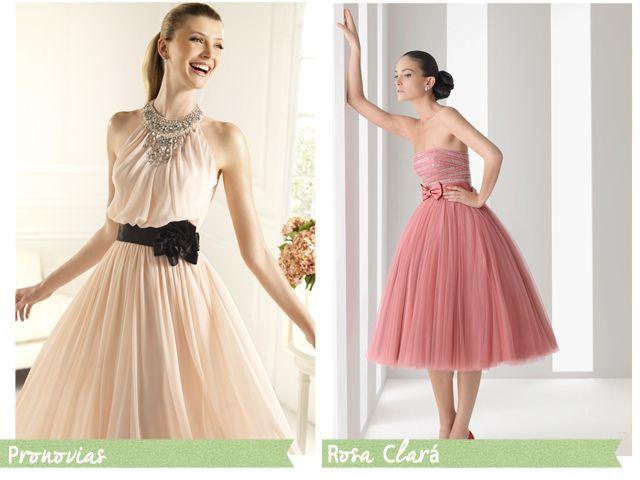 Buscando un vestido en rosa para la boda, ¡que manía con ese color ...
