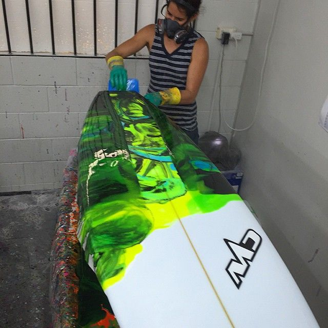 Soothing #surfboards #surfing #summer #art #resintint #lifestyle #colour #fashion