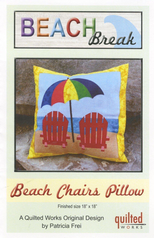 Beach Break Pillow Pattern Pillow Pattern Pillows Beach Quilt