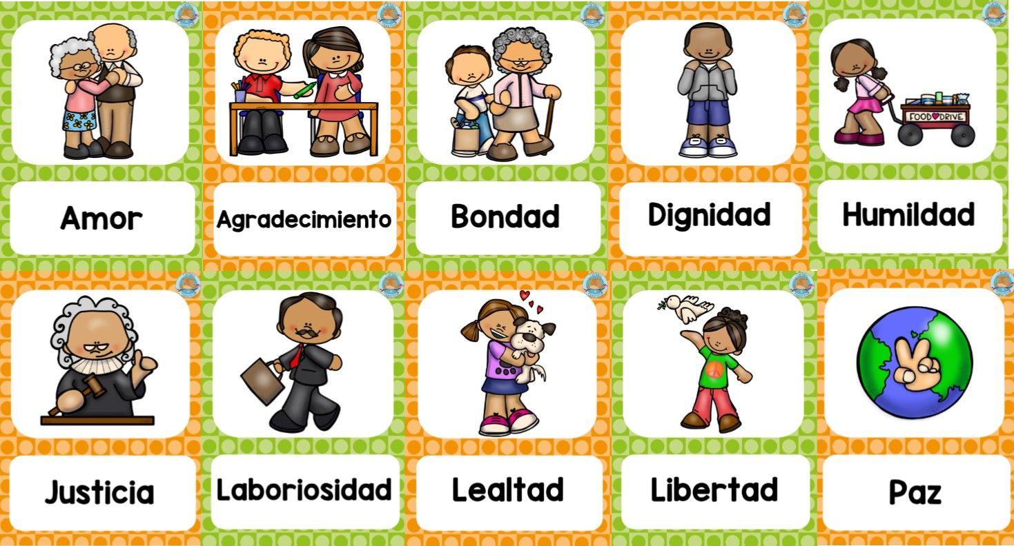 Fabulosos Disenos Sobre Los Valores Educacion De Valores Valores En La Escuela Respeto A Los Ninos