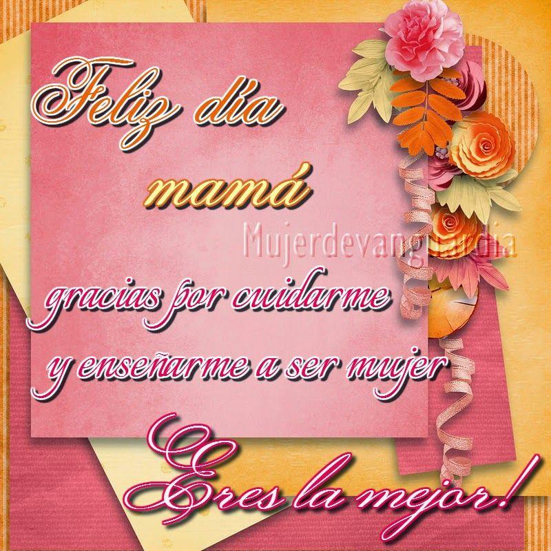 Graficas cristianas de Mujer de vanguardia Imagenes con Mensajes biblicos: Feliz día mamá