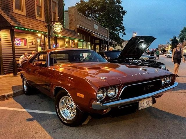 Beautiful 74 Challenger Owned By Gina Maria74 Thanks For The Pic 74Challenger Dodge Mopar