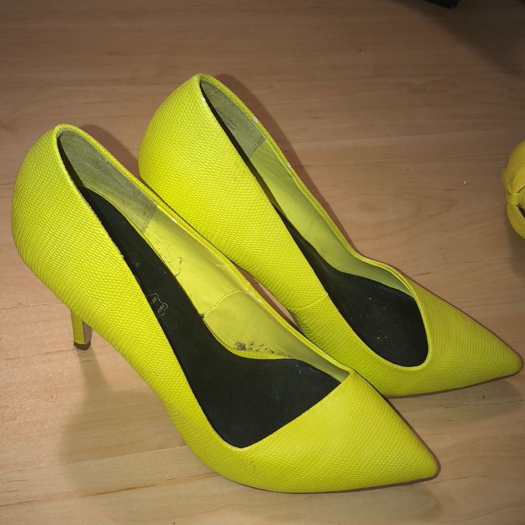 406a4954443 Aldo Shoes | Heels | Color: Yellow | Size: 7.5 in 2019 | Products ...