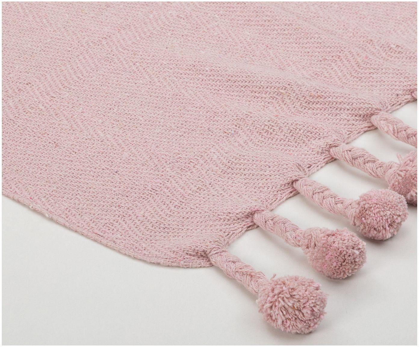 Kuscheln Sie sich in das Plaid Sorbet in Rosa mit Pom-Pom Details am Saum. Shoppen Sie weitere tolle Decken >> WestwingNow.