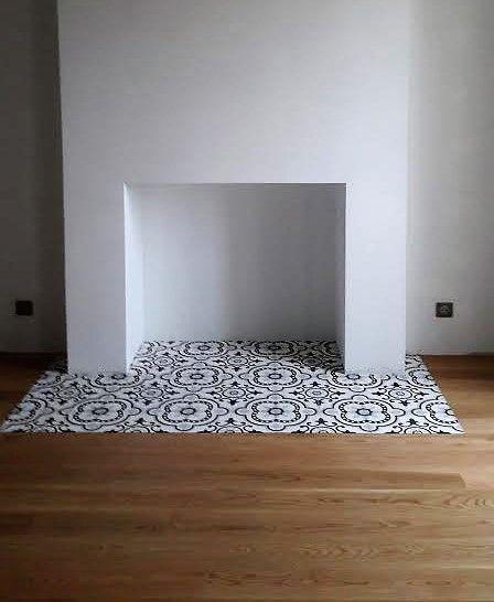 Réalisation d\'un tapis pour la future cheminée modèle Versailles ...