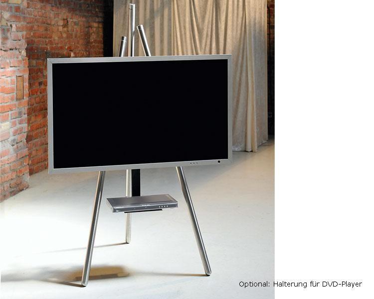Wissmann Tripod Art 130 Tv Halterung Bundle Easel Tv Stand Tv
