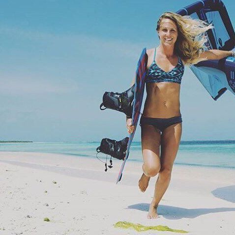 Kiter babes in action! We love seeing where our team travels to. What's your favorite adventure destination?  #adventure #travel #kitesista #kite #kitesurfing