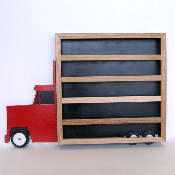 Truck Wall Shelf Wall shelves, Shelves, Childrens decor