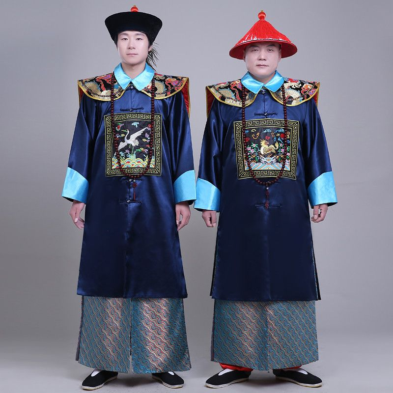 >> Click to Buy << New arrival black the Qing dynasty Minister's costumes male Clothes ancient Chinese style men's togae costume #Affiliate