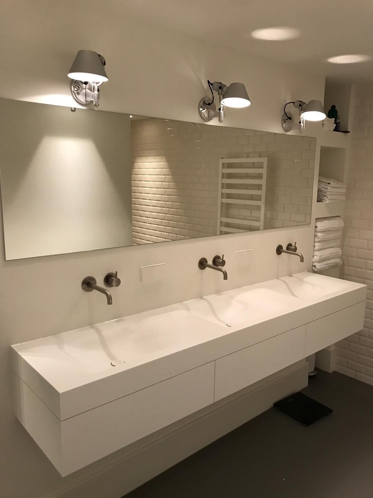 Tiz Design Kwaliteits Badkamermeubels Solid Surface Badkamer Nieuwbouw Wastafel Badkamer Inspiratie