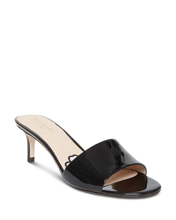f5ac68c4d Women's Savvi Kitten Heel Slide Sandals in 2019 | Shoes | Heels ...