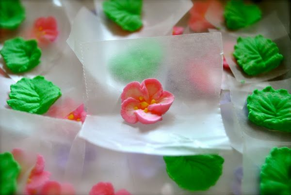 Royal Icing Apple Blossom