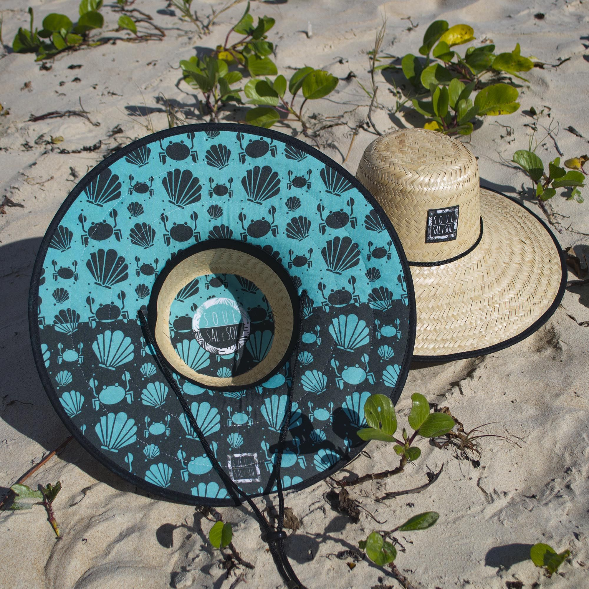 Nossos Chapéus de Palha são um sucesso! Estampas exclusivas da marca Soul  Sal e Sol.  chapeu  chapeudepalha  conchas  praia  bali  indonesia   modapraia c8f9a66a6dd